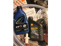 5W-40 motor oil