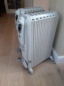 DeLonghi Oil Filled Radiator - two available