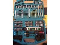 Dewalt drills and makita drill bits