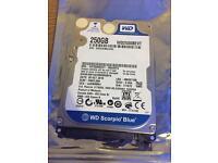 250gb sata hard drive