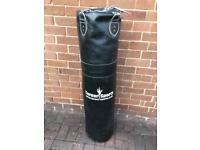 Punchbag and bracket