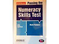Passing the Numeracy Skills Test Book