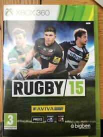 Xbox 360 Rugby 15