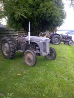 Ferguson TEA20 Vintage Tractor x 2 Moe Latrobe Valley Preview