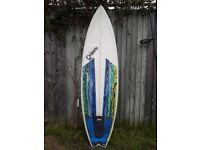 surfboard for sale: shortboard, 6'0 x 19 1/2 x 2 1/2