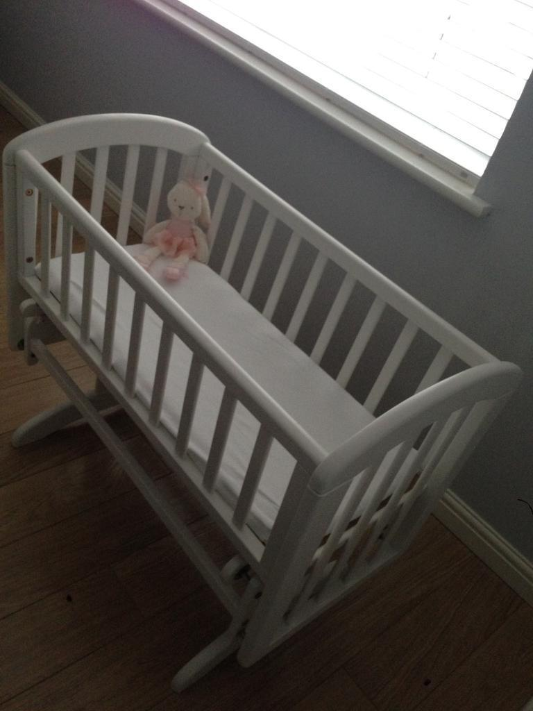 Baby cribs john lewis - Baby Crib John Lewis Anna Sliding Crib In White