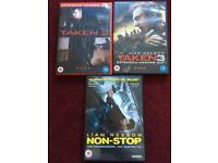 Liam neeson DVD's