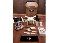 DJI Phantom 3 PRO 4K Drone + EXTRAS