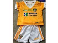 Antrim GAA baby kit 0-6 months new