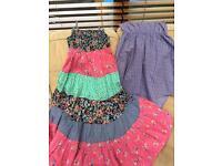 'Next' girls summer dresses aged 8 years