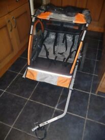 DOUBLE BUGGY BIKE TRAILER see details