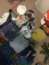 Massive bundle of baby newborn+ clothes!