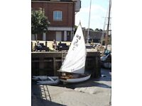 Haybridge Sailing Dinghy with inflatable dinghy and 4 stroke outboard