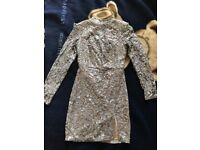 MissGuided Sequin Dress Size 6