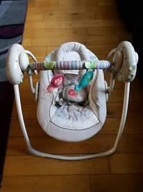 Ingenuity Musical Baby Swing like New