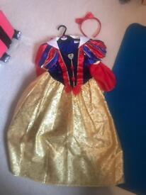 Age 5-6 Snow White fancy dress costume