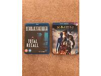 Total Recall & X-Men Days of future past Blue-Ray