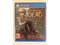 The walking dead season 2 PS4 game