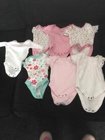 Tiny baby vests 2