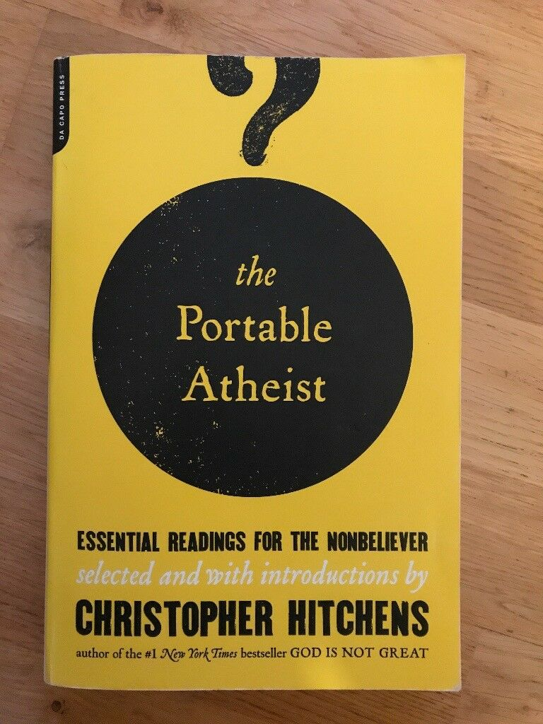 Book - The Portable Atheist by Christopher Hitchens