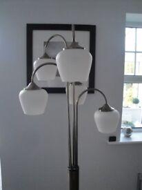 Floor Lamp / Pewter