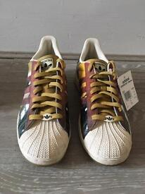 Adidas 35th anniversary superstar trainers