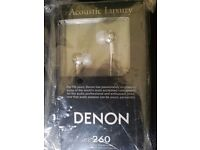 Denon AHC260 In-Ear Headphones, Silver-Brand New