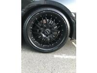 Bmw e92 deep dish alloys