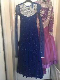 NAVY ASIAN DRESS