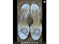 Wedding Jimmy choo sandals