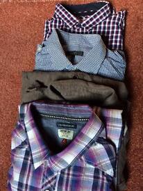 Men's shirts size large x 4