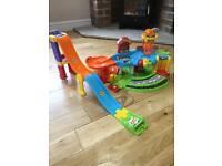VTech toot toot garage and additional ramps