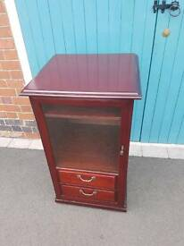 Sutcliffe Glass Fronted Stereo Unit