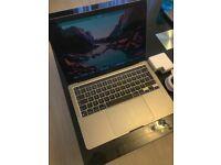 MacBook Pro 13 inch, M1 Silicon Chip, Space Gray, 256GB SSD, 8GB RAM, Apple Warranty