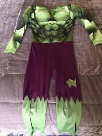 Incredible Hulk costume age 4-6