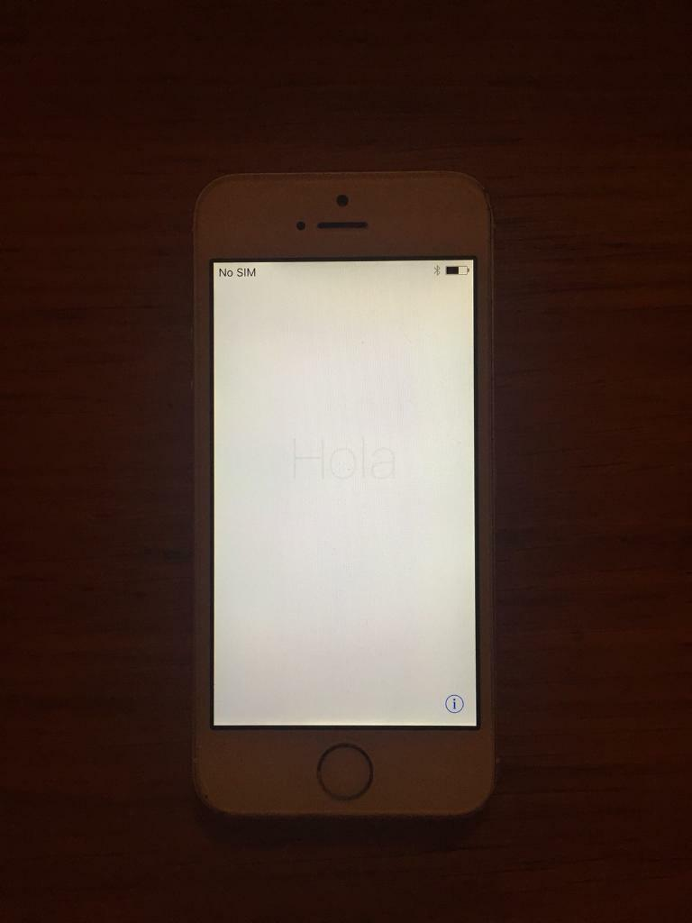 iPhone 5s 16gb Silver - Good condition