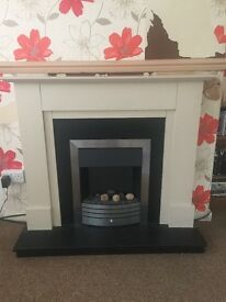 Electric fire and surround!