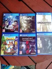 PS4 Slim + games