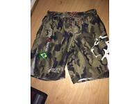 Blitz mma shorts