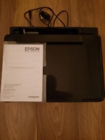 EPSON XP 322 COLOUR PRINTER/SCANNER (NO INK INCLUDED)