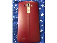 Unlocked LG G4 Rare red leather back 32gb £150 ono