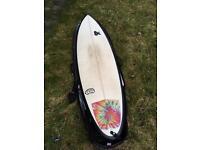 Fourth chilli bean surfboard 6'9