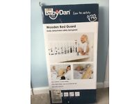 Brand new in box. White Baby Dan bed guard, cost £29.99