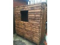 6x3 wooden shed