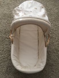 Mothercare Moses basket and stand!!