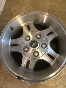 """16""""5x120-5x4.75 Chevy rims forsale"""