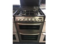 ZANUSSI 60CM ALL GAS COOKER IN SILIVER
