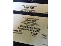 Blink 182 tickets, metro radio arena