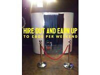 Start your own Photo Booth Hire Business, buy a Photo Booth today!