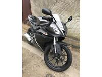 Yamaha Yzf r125 2009 new front end